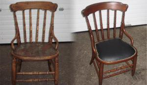 Перетяжка стульев на дому недорого в Екатеринбурге