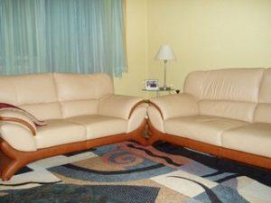 Перетяжка кожаной мебели в Екатеринбурге